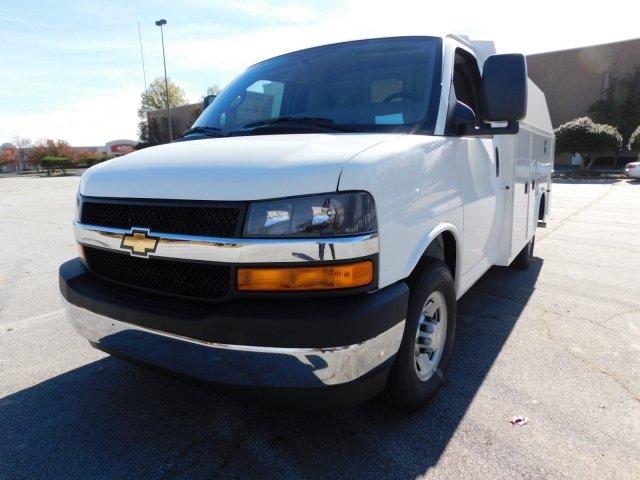 2017 Chevrolet Express 3500 4x2, Knapheide KUV Service Utility Van #FM98042A - photo 9
