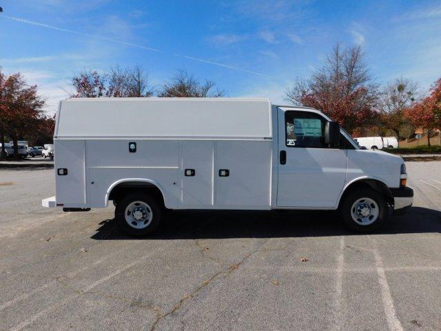 2017 Chevrolet Express 3500 4x2, Knapheide KUV Service Utility Van #FM98042A - photo 5