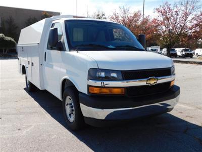 2017 Chevrolet Express 3500 4x2, Knapheide KUV Service Utility Van #FM98042A - photo 3