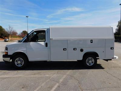 2017 Chevrolet Express 3500 4x2, Knapheide KUV Service Utility Van #FM98042A - photo 8
