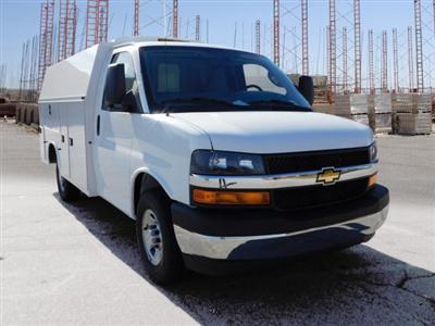 2017 Chevrolet Express 3500 4x2, Knapheide KUV Service Utility Van #FM98042A - photo 27