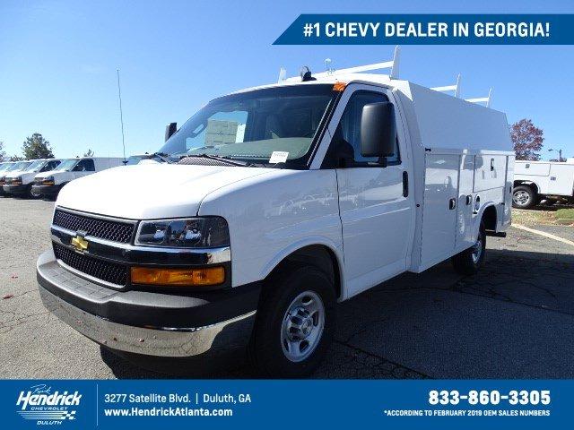 2019 Chevrolet Express 3500 4x2, Knapheide Service Utility Van #M1370357 - photo 1