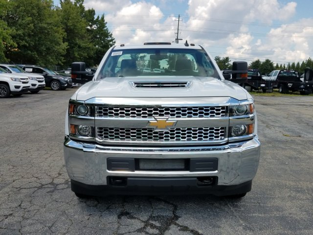 2019 Silverado 3500 Regular Cab DRW 4x4,  Warner Service Body #MF108631 - photo 7