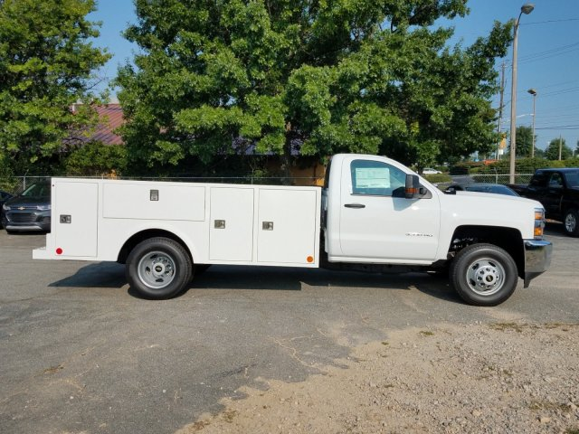 2019 Silverado 3500 Regular Cab DRW 4x2,  Warner Service Body #MF108714 - photo 3