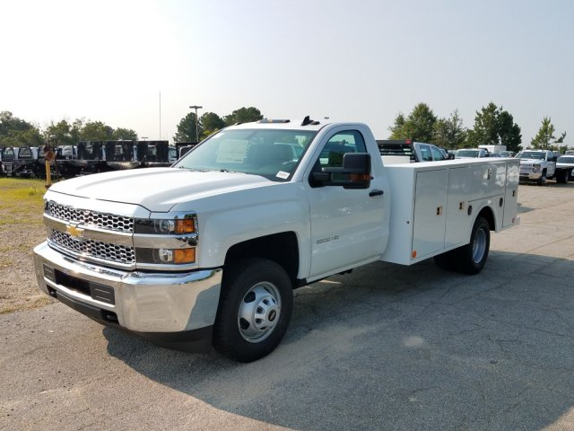 2019 Silverado 3500 Regular Cab DRW 4x2,  Warner Service Body #MF108714 - photo 8