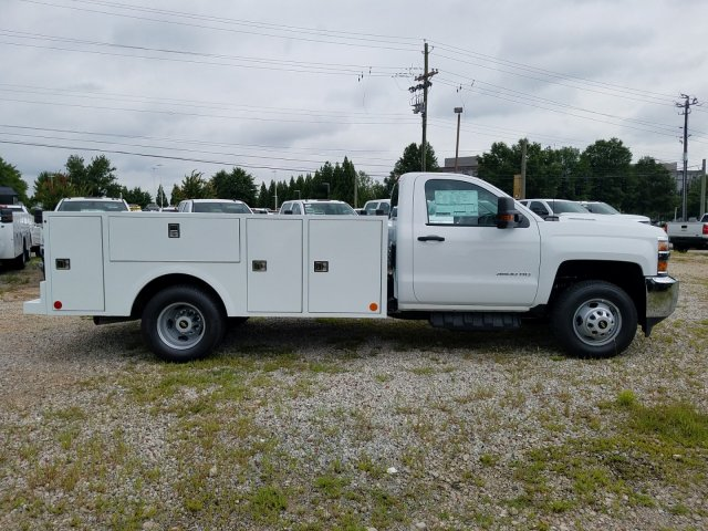 2019 Silverado 3500 Regular Cab DRW 4x4,  Warner Service Body #MF109568 - photo 5
