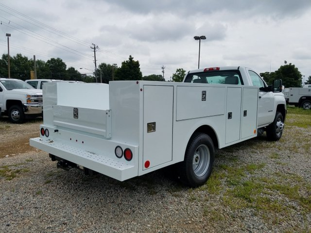 2019 Silverado 3500 Regular Cab DRW 4x4,  Warner Service Body #MF109568 - photo 2