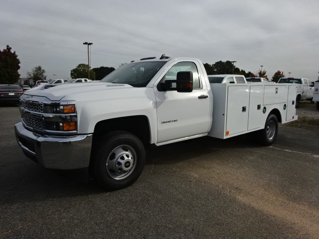 2019 Silverado 3500 Regular Cab DRW 4x2,  Warner Service Body #MF144988 - photo 4