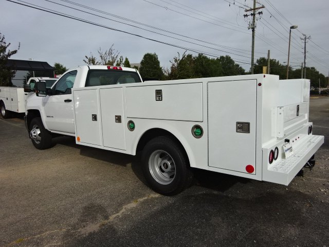 2019 Silverado 3500 Regular Cab DRW 4x2,  Warner Service Body #MF144988 - photo 3