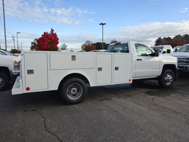 2019 Silverado 3500 Regular Cab DRW 4x4,  Warner Service Body #MF145438 - photo 2
