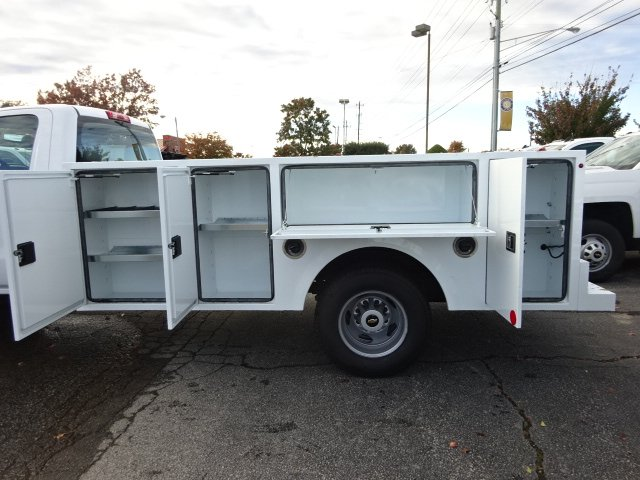 2019 Silverado 3500 Regular Cab DRW 4x4,  Warner Service Body #MF145438 - photo 4
