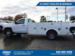 2019 Silverado 3500 Regular Cab DRW 4x4,  Warner Service Body #MF145438 - photo 1