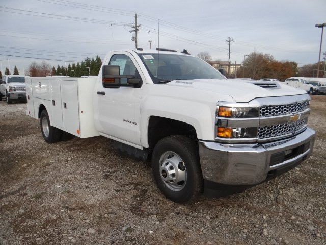 2019 Silverado 3500 Regular Cab DRW 4x2,  Warner Service Body #MF146437 - photo 4