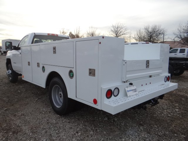 2019 Silverado 3500 Regular Cab DRW 4x2,  Warner Service Body #MF146437 - photo 8