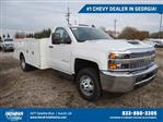 2019 Silverado 3500 Regular Cab DRW 4x2,  Warner Service Body #MF146437 - photo 1