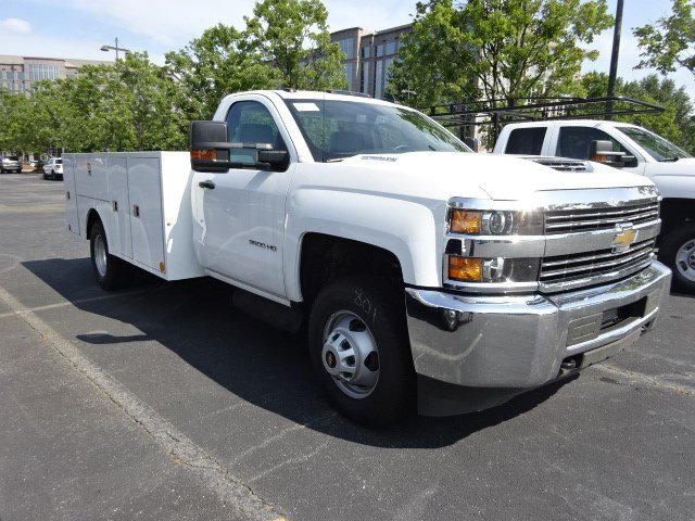 2018 Silverado 3500 Regular Cab DRW 4x2,  Warner Service Body #MF163104 - photo 6