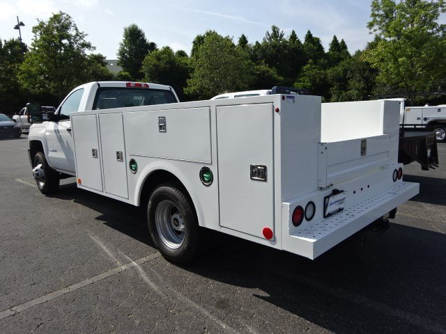 2018 Silverado 3500 Regular Cab DRW 4x2,  Warner Service Body #MF163104 - photo 2
