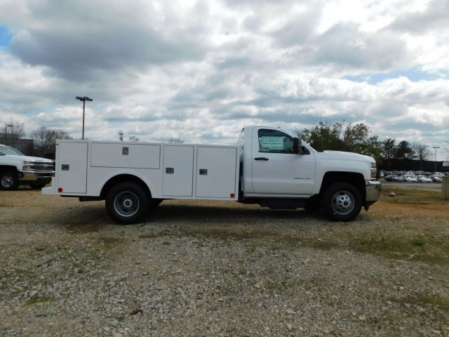 2018 Silverado 3500 Regular Cab DRW 4x2,  Warner Select II Service Body #MF192758 - photo 3