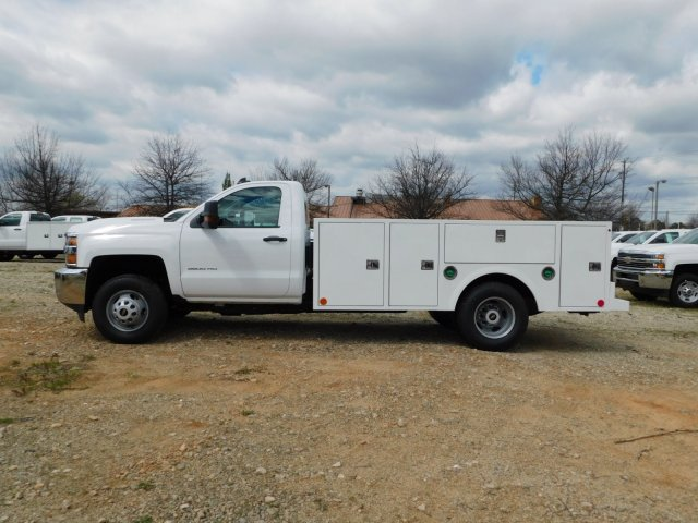 2018 Silverado 3500 Regular Cab DRW 4x2,  Warner Select II Service Body #MF192758 - photo 6