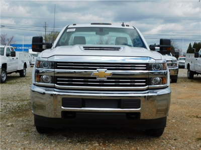 2018 Silverado 3500 Regular Cab DRW 4x2,  Warner Select II Service Body #MF192758 - photo 8