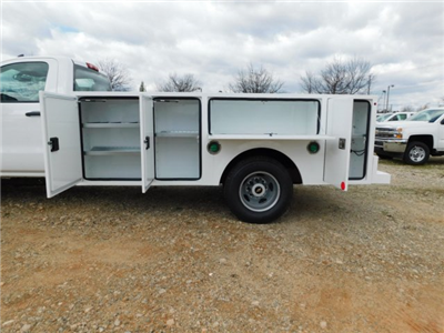 2018 Silverado 3500 Regular Cab DRW 4x2,  Warner Select II Service Body #MF192758 - photo 23