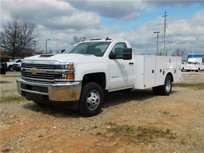 2018 Silverado 3500 Regular Cab DRW 4x2,  Warner Select II Service Body #MF192758 - photo 7
