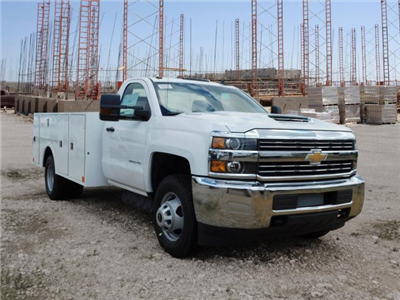 2018 Silverado 3500 Regular Cab DRW 4x2,  Warner Select II Service Body #MF192758 - photo 32