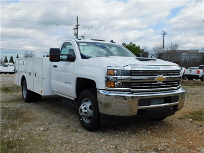 2018 Silverado 3500 Regular Cab DRW 4x2,  Warner Select II Service Body #MF192758 - photo 33