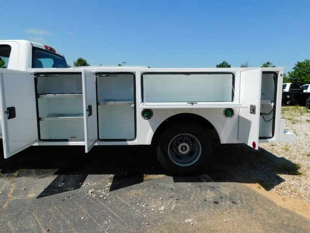2018 Silverado 3500 Regular Cab DRW 4x4,  Warner Service Body #MF245465 - photo 32