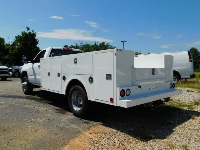 2018 Silverado 3500 Regular Cab DRW 4x4,  Warner Service Body #MF245465 - photo 5