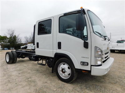 2017 LCF 4500 Crew Cab 4x2,  Cab Chassis #MS809351 - photo 3