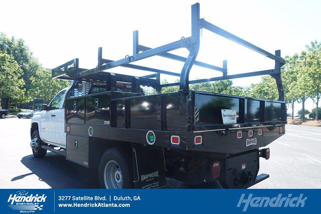 2019 Chevrolet Silverado 3500 Crew Cab DRW 4x4, Contractor Body #PS11232 - photo 1
