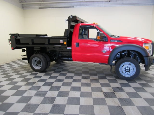 2016 F-550 Regular Cab DRW 4x4, Galion Dump Body #16T3 - photo 2