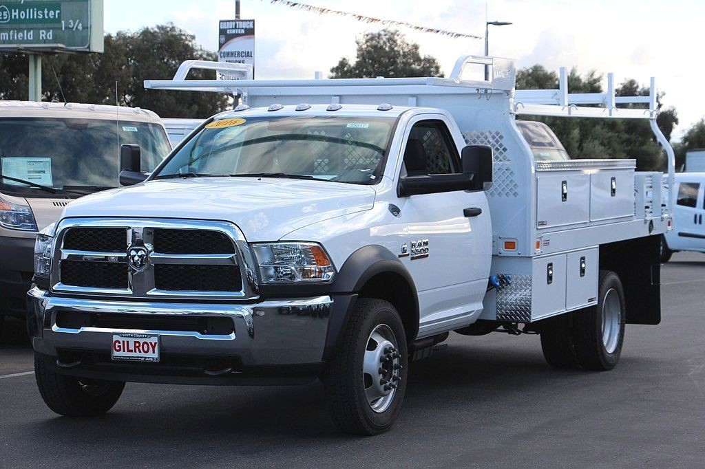 2016 Ram 5500 Regular Cab DRW, Contractor Body #35817 - photo 11