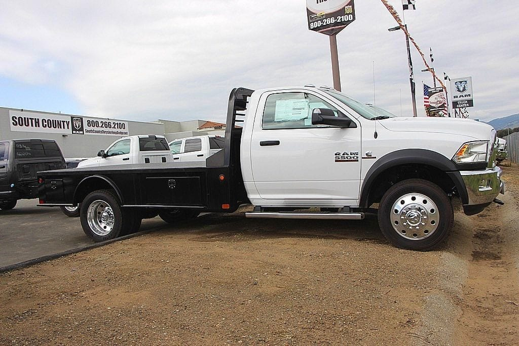 2017 Ram 5500 Regular Cab DRW 4x2,  Platform Body #39374 - photo 3