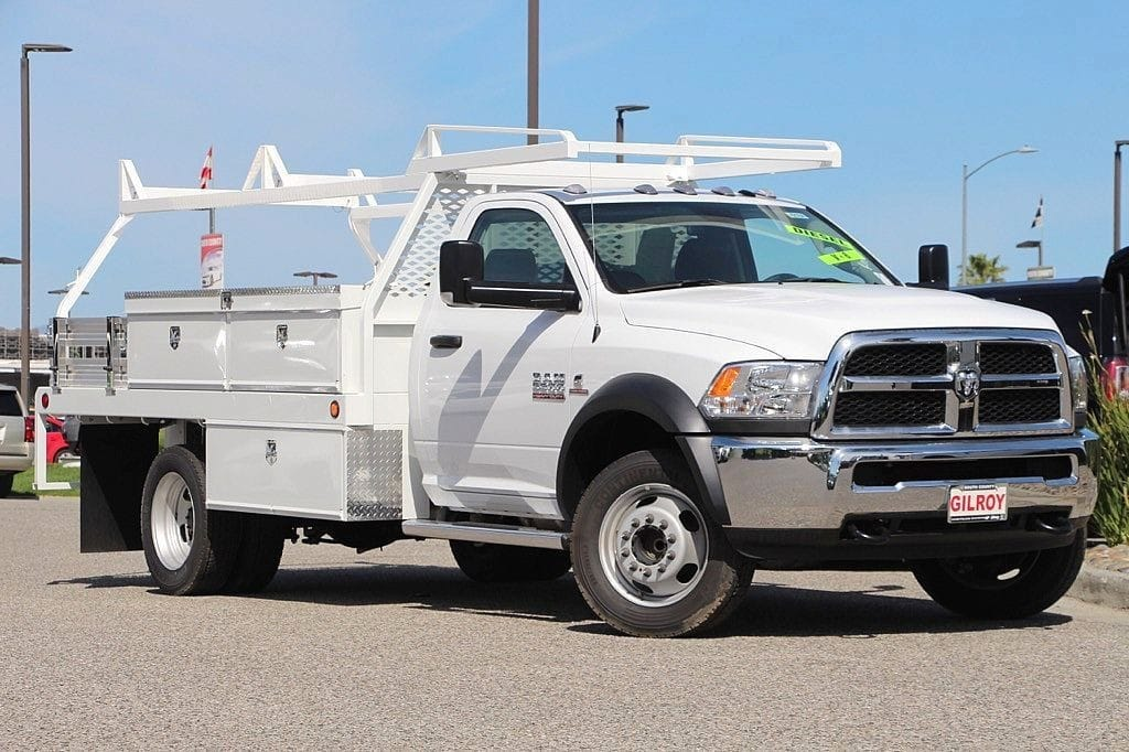 2017 Ram 5500 Regular Cab DRW 4x2,  Contractor Body #42164 - photo 14