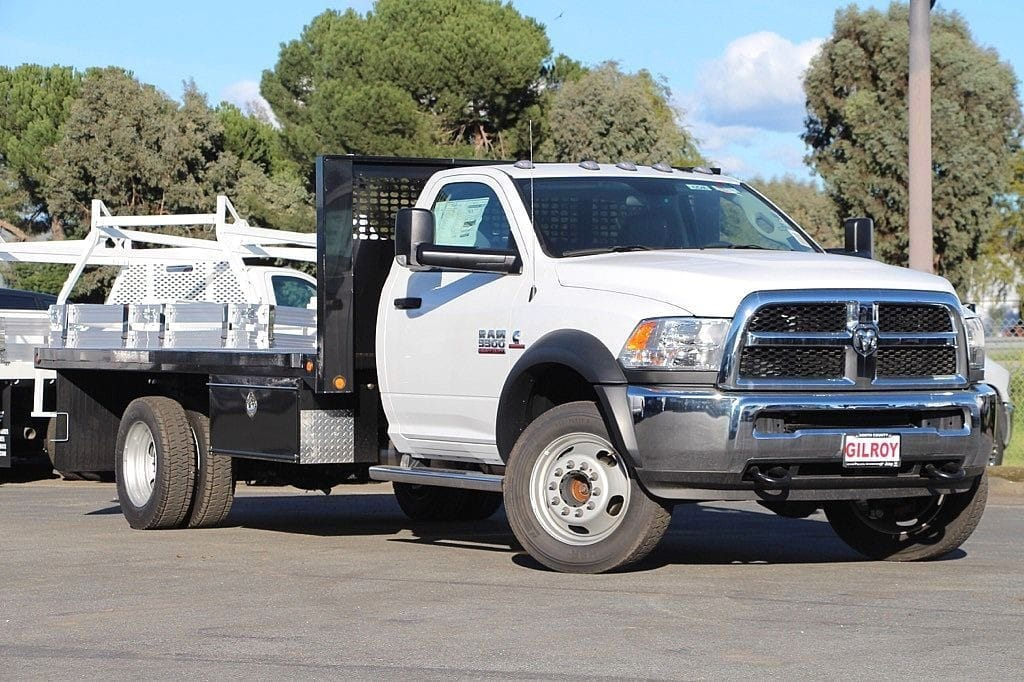 2017 Ram 5500 Regular Cab DRW 4x4,  Platform Body #42546 - photo 15
