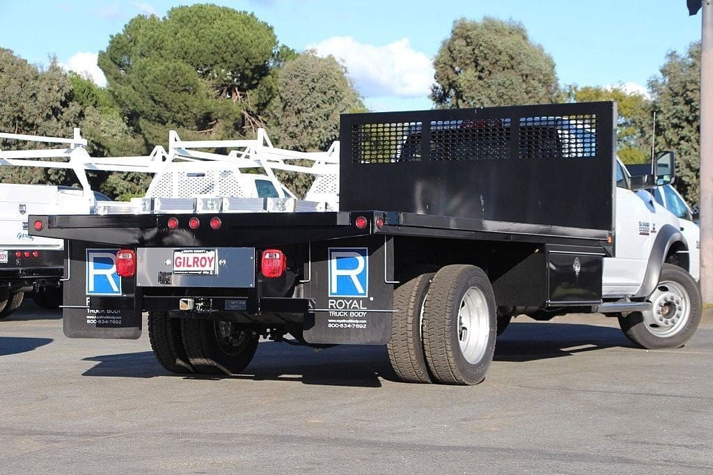 2017 Ram 5500 Regular Cab DRW 4x4,  Platform Body #42546 - photo 2