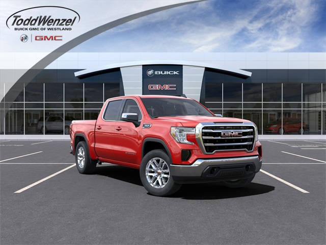 2021 GMC Sierra 1500 Crew Cab 4x4, Pickup #CF210410 - photo 1