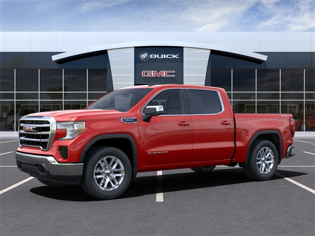 2021 GMC Sierra 1500 Crew Cab 4x4, Pickup #CF210410 - photo 3