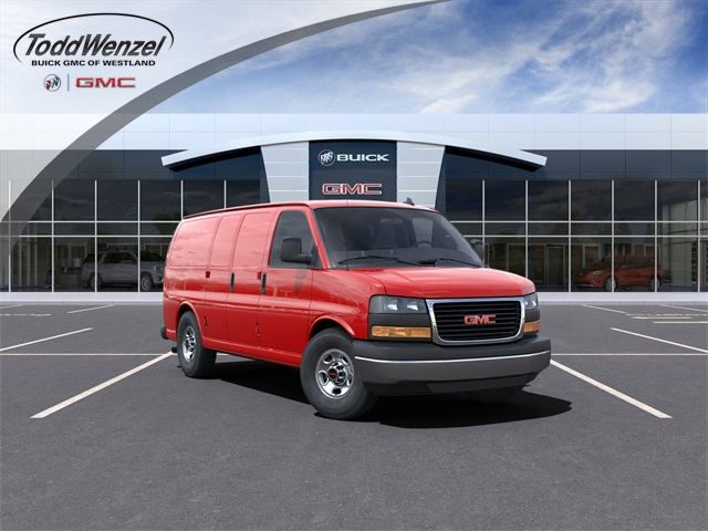 2021 GMC Savana 3500 4x2, Empty Cargo Van #VF210365 - photo 1