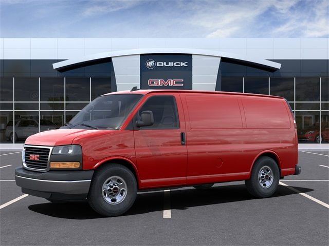 2021 GMC Savana 3500 4x2, Empty Cargo Van #VF210365 - photo 3