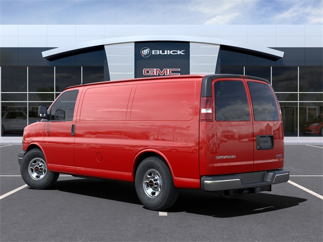 2021 GMC Savana 3500 4x2, Empty Cargo Van #VF210365 - photo 4