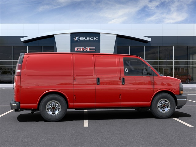 2021 GMC Savana 3500 4x2, Empty Cargo Van #VF210365 - photo 5