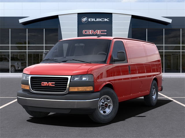 2021 GMC Savana 3500 4x2, Empty Cargo Van #VF210365 - photo 6