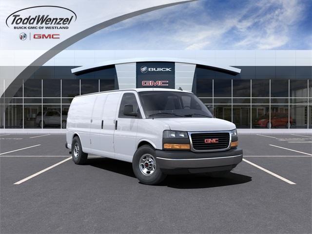2021 GMC Savana 3500 4x2, Empty Cargo Van #VF210387 - photo 1