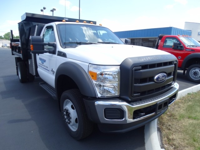 2016 F-550 Regular Cab DRW 4x4, Reading Dump Body #21606 - photo 4