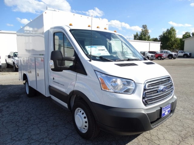2016 Transit 350 HD Low Roof DRW, Service Utility Van #21850 - photo 4