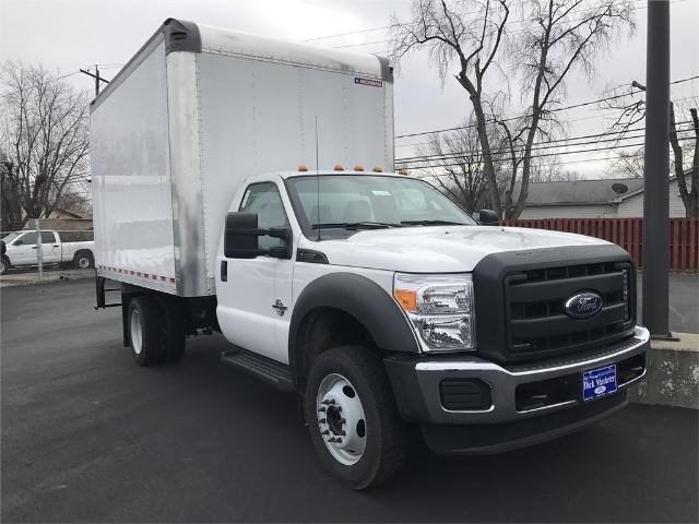2016 F-450 Regular Cab DRW 4x2,  Morgan Dry Freight #22048 - photo 3