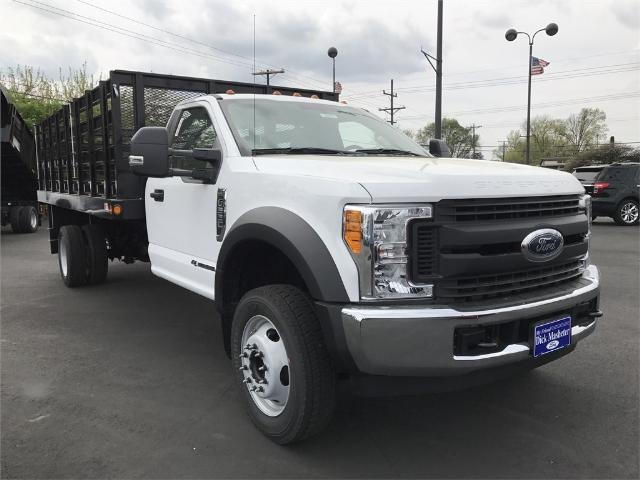 2017 F-550 Regular Cab DRW 4x2,  Parkhurst Stake Bed #22319 - photo 6